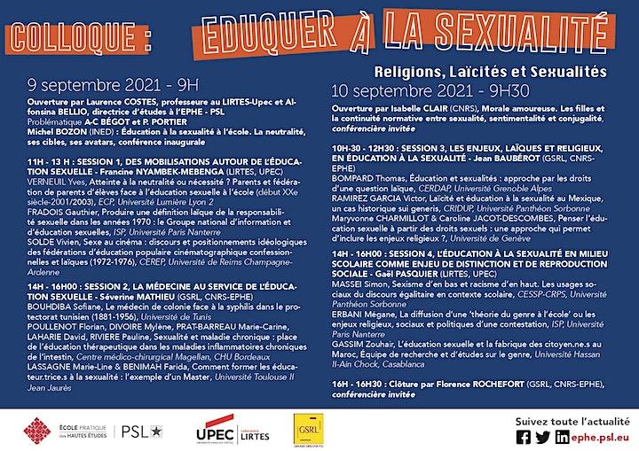 Image pour Éduquer à la sexualité. Religions, Laïcités et Sexualités