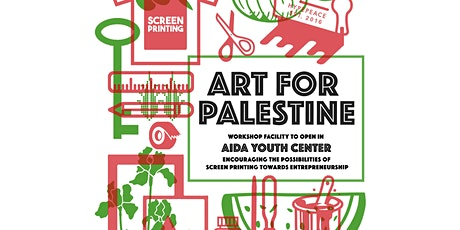 SCREEN-PRINTING WORKSHOP - ART FOR PALESTINE tickets