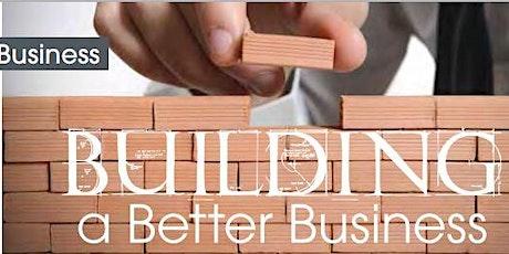 Building a Better Business tickets