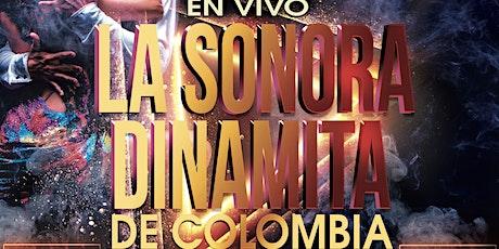 La Sonora Dinamita full band from Colombia. Noche De Verano July 31 tickets
