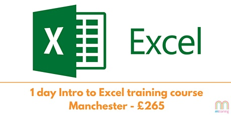 Intro to Excel Training Course - Manchester tickets