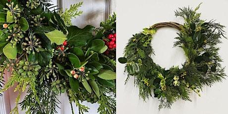 Christmas Wreath Making with Sarah Gardner (1 Dec) tickets