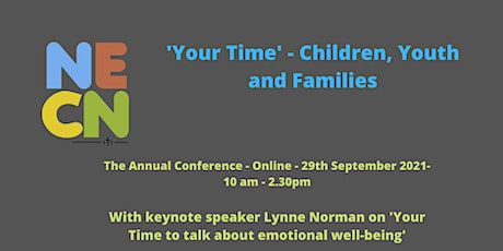 NECN   'Your Time' - Children, Youth and Families Conference tickets