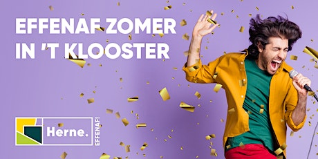 Zomer in 't klooster 30 juli 2021 tickets