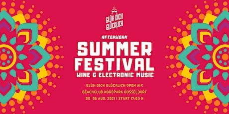 Glüh Dich Glücklich  - Summer Festival - im Beachclub Düsseldorf! Tickets