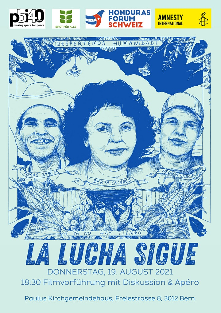 La lucha sigue - Filmabend zu Honduras: Bild