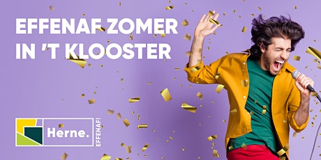 Zomer in 't klooster 3 september 2021 tickets