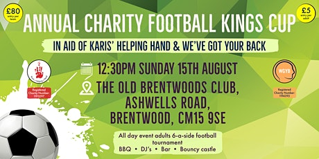 Annual Charity Football Kings Cup tickets