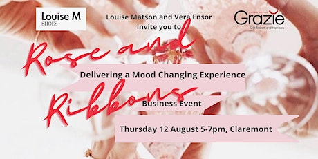 Rose and Ribbons -  Delivering a Mood Changing Experience tickets