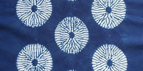 Hishaki nui shibori - stitch on the fold - Online class tickets