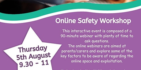 Staying Safe Online – Parenting in the Digital World tickets