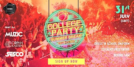 2021.07.31 SUMMER BREAK COLLEGE PARTY tickets