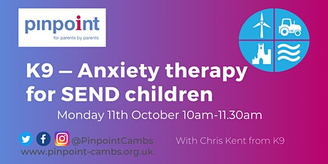 K9 — Anxiety therapy for SEND children tickets