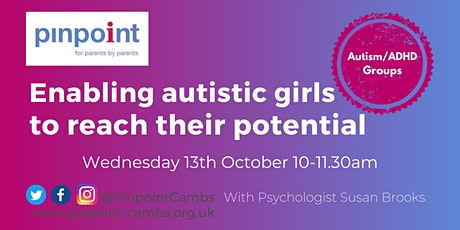Enabling autistic girls to reach their potential tickets