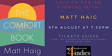 Matt Haig At Home tickets