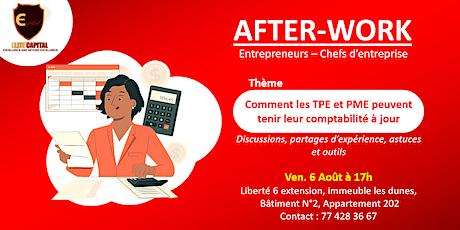 Afterwork: Comment les TPE & PME peuvent tenir leur comptabilité à jour billets