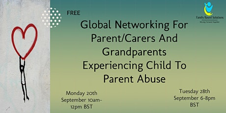 Parent/Carers And Grandparents Experiencing Child To Parent Abuse billets