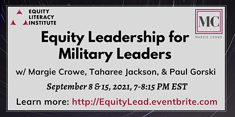Equity Leadership for Military Leaders tickets