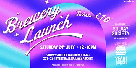 Brewery Launch Party tickets