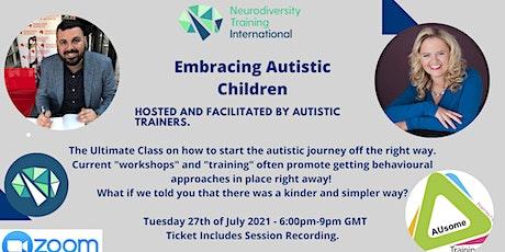 Embracing Autistic Children biglietti