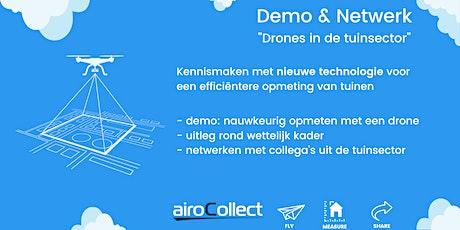 Demo & Netwerk: drones in de tuinsector billets