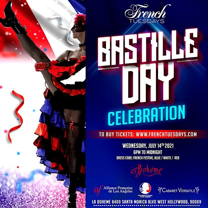 Bastille Day Celebration by French Tuesdays image