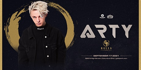 Arty / September 17 / Galla Park Columbus tickets