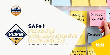 SAFe® Product Owner/Product Manager (POPM) tickets
