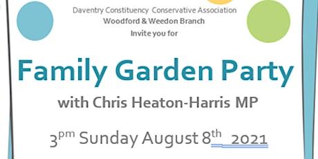 DCCA Family Garden Party tickets