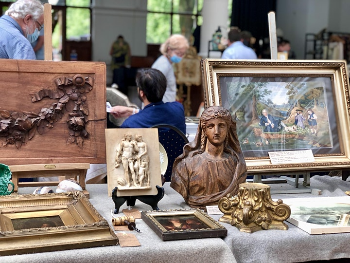Adams Antiques Fairs at The Royal Horticultural Hall October 2021 image