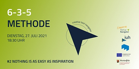 #2 Nothing is as easy as inspiration -  6-3-5 Methode Tickets