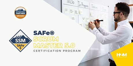 SAFe Scrum Master (SSM)-5.0 training tickets