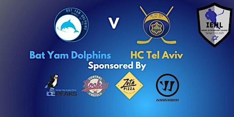 HC Tel Aviv V Bat Yam Dolphins tickets