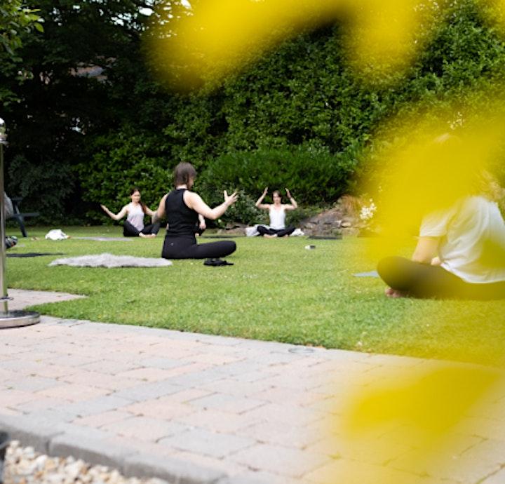 Outdoor Yoga - Beautiful secret garden Ballsbridge ☀️ image