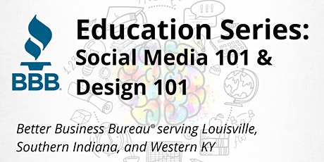 Education Series: Social Media 101 and Design 101 tickets