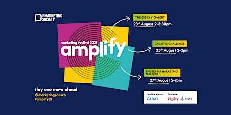 Amplify Marketing Festival 2021 tickets
