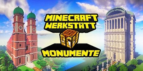 FabLabKids: Minecraft Werkstatt - Monumente der Welt, 3-tägig Tickets