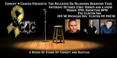 Comedy 4 Cancer Presents. Released On Hilarious Behavior Tour tickets