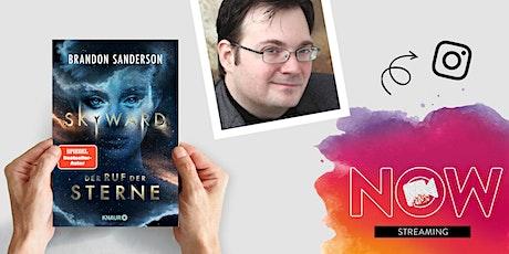 """NOW: Brandon Sanderson """"Skyward - Der Ruf der Sterne"""" Tickets"""