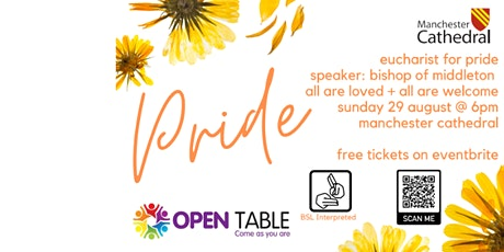 Open Table Pride Mass tickets