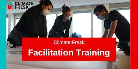 Climate Fresk - Online Facilitation Training billets