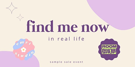 Find Me Now: In Real Life tickets