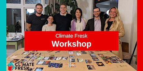 Climate Fresk - Online Workshop tickets