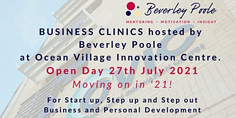 Business Clinics open day at OVIC Southampton tickets
