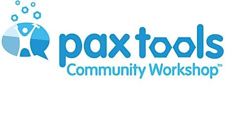 Pax Tools Community Training tickets