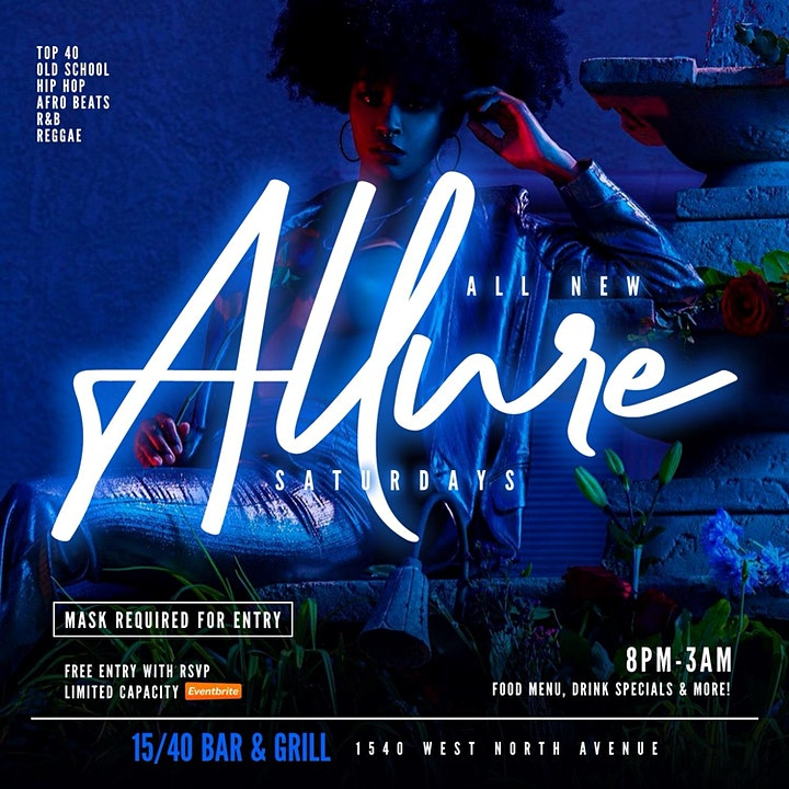 ALL NEW ALLURE SATURDAYS : JUNETEENTH EDITION (NO COVER) image