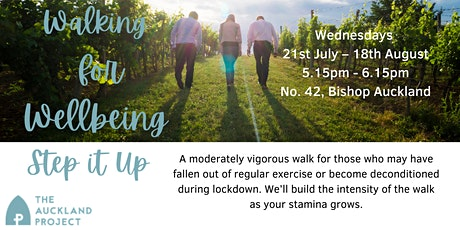 Walking for Wellbeing - Step It Up tickets
