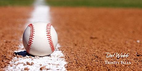Del Webb Trinity Falls Rough Riders Baseball Game tickets