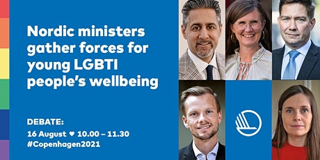 Nordic ministers gather forces for young LGBTI people's wellbeing tickets