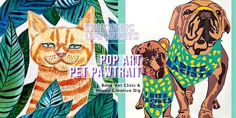 [ Comic Life Of Pets ] Paint Your Pet In Pop Art Pawtrait tickets